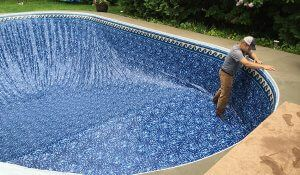 New liner installation from local pool experts in Ottawa.